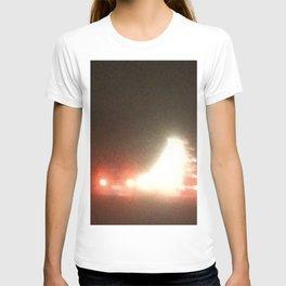Abstracte Light Art in the Dark 13 T-shirt