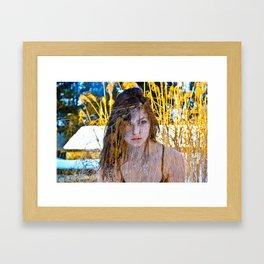zane1color  Framed Art Print