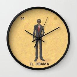 EL OBAMA Wall Clock