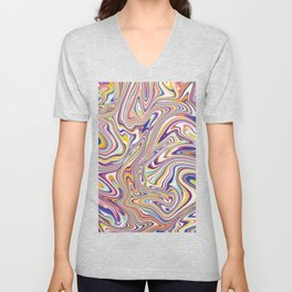 *SWIRL_COMPOSITION_3 Unisex V-Neck