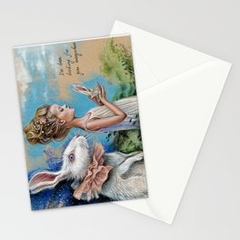 Chasing dream Stationery Cards