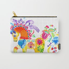 Summer Horse Carry-All Pouch
