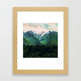 Escaping from woodland heights IV Framed Art Print