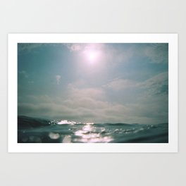 Ocean Level Art Print