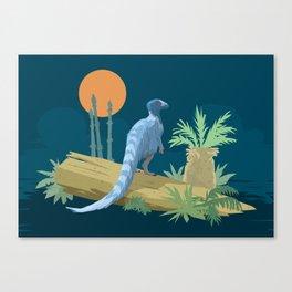 Eoraptor lunensis Canvas Print