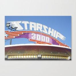 Starship 3000 Canvas Print