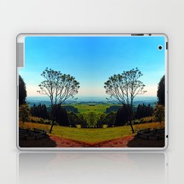 A tree, some benches and lots of scenery Laptop & iPad Skin