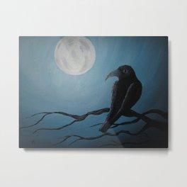 Bluemoon Raven's Dream Metal Print