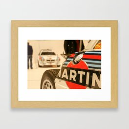 Martini Group B Lancias  Framed Art Print