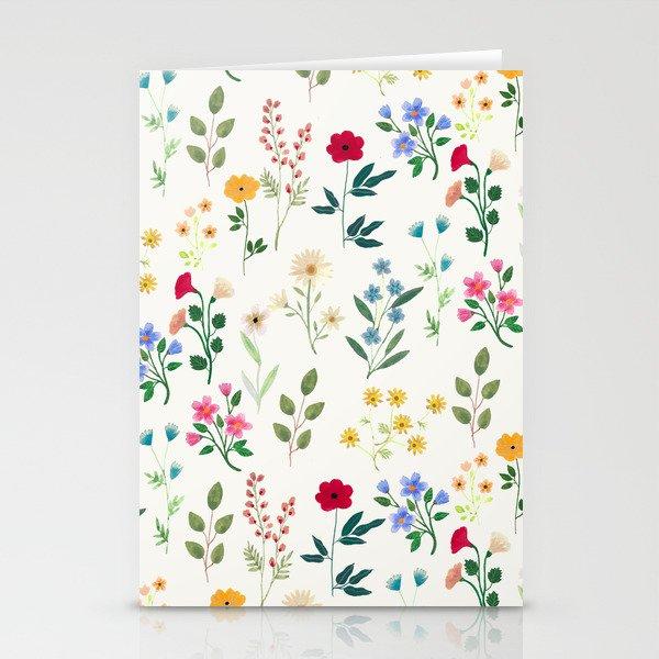 Spring Botanicals Stationery Cards