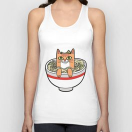 Phở Cat Unisex Tank Top