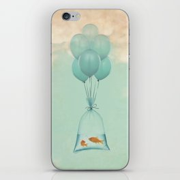 Flight to Freedom (RM) iPhone Skin
