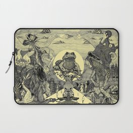 Toad Licking  Laptop Sleeve