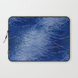 Wind-whipped Vines (blue) Laptop Sleeve