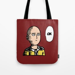 One Punch Man Tote Bag