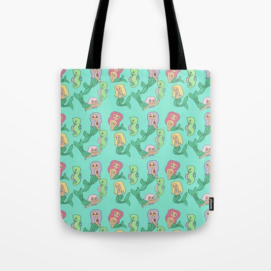 Kitsch Mermaid Tote Bag