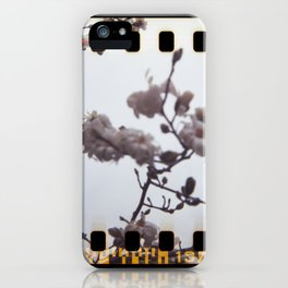 blooming sprockets iPhone Case