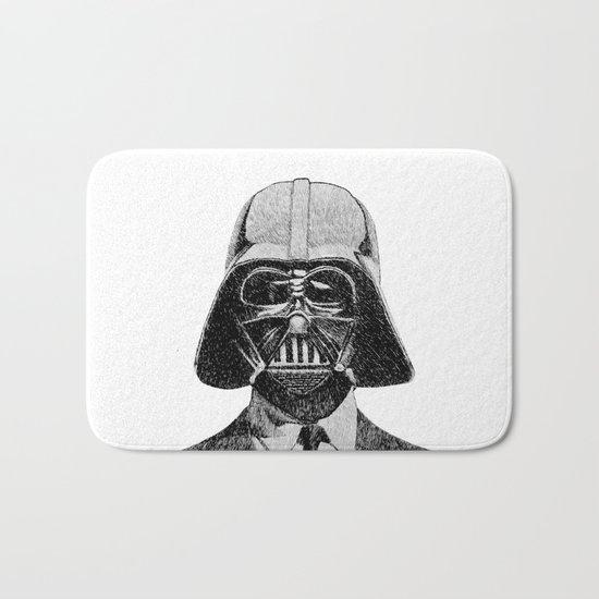 Darth Vader portrait #2 Bath Mat