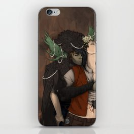 Ziall - The Witch King and The Boy. iPhone Skin