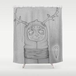 Captive Guy Spirit Animal Shower Curtain