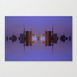 Skyline Symmetry in Toronto, Ontario  Canvas Print