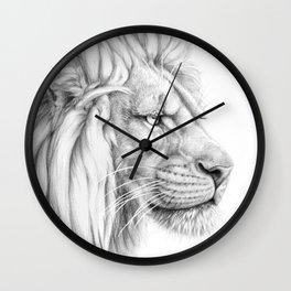 Lion's mane G006 Wall Clock
