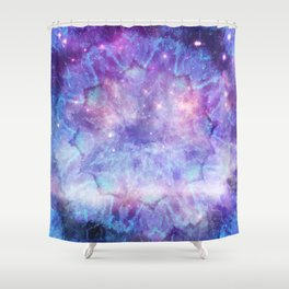 Purple Galaxy - Psychedelic Summer Series by iDeal Shower Curtain