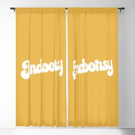 Indoorsy Funny Cute Quote Blackout Curtain