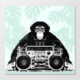 Jungle Music 02 Canvas Print