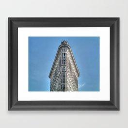 The Flatiron building Framed Art Print