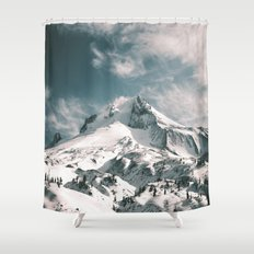 Mount Hood IV Shower Curtain