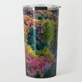 Fall Colors ~ La Sal Mountains, Utah Travel Mug