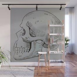Mr. Skull Wall Mural