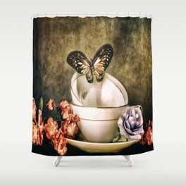 Afternoon Tea Shower Curtain