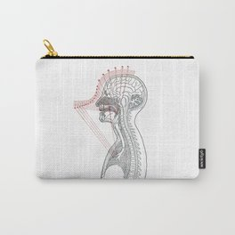 Voice anatomy Carry-All Pouch