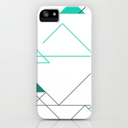 Tree Angle Green iPhone Case