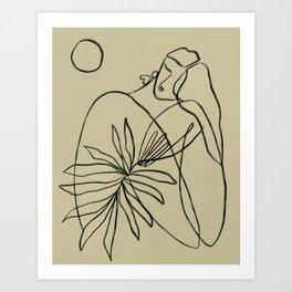 Summer lines V|| Art Print