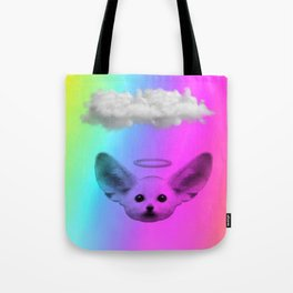 Little Angel Fennec Fox Tote Bag