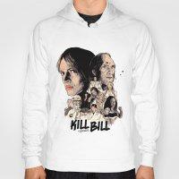 bill Hoodies featuring Kill Bill by RJ Artworks