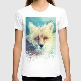 fox / splatter T-shirt