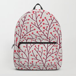 Pink Berry Branches Backpack