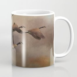 Wild Geese at Dawn Coffee Mug
