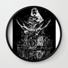 Passion & Tension. Invert Wall Clock