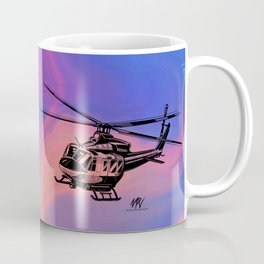 BELL 412 EP Fire Storm Coffee Mug