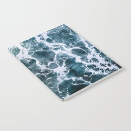 Minimalistic Veins in a Wave  - Seascape Photography Notebook