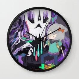 Skull Icon Wall Clock