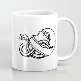 vipera b/w Coffee Mug