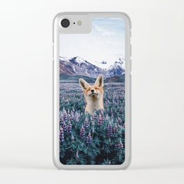 why do you love nature? Clear iPhone Case