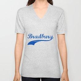 Team Bradbury Unisex V-Neck