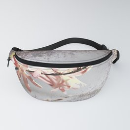 Elegant Coral colored Crocosmia Flowers Fanny Pack